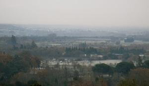 The plains of Roussillon