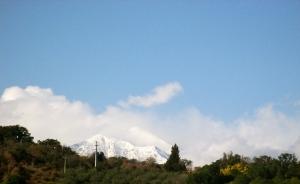 Clouds part, Canigou
